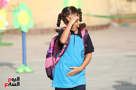 توافد التلاميذ على المدارس (7)