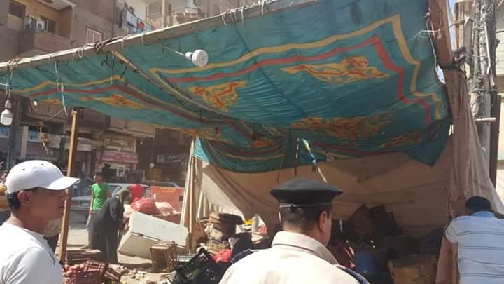 حملة مرافق الغربية لإزالة سوق سيجر.