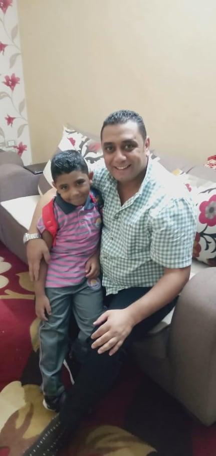 محمد والابن معاذ