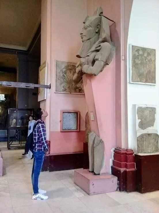 المتحف المصرى قبل التطوير