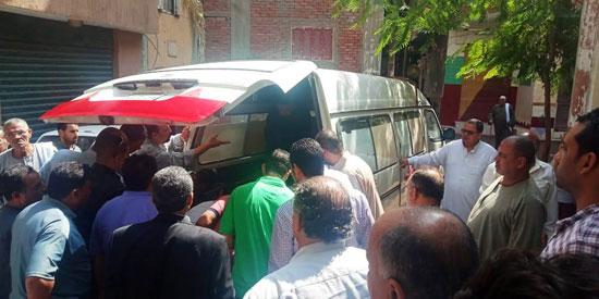 تشييع جثمان العالم المصرى أبو بكر عبد المنعم (7)