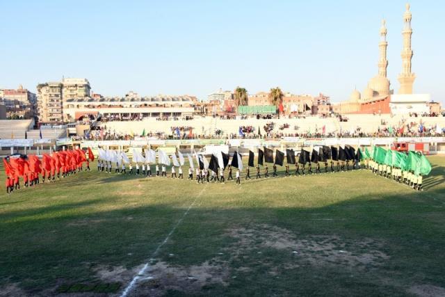 احتفالية محافظة الشرقية بالعيد القومى (5)