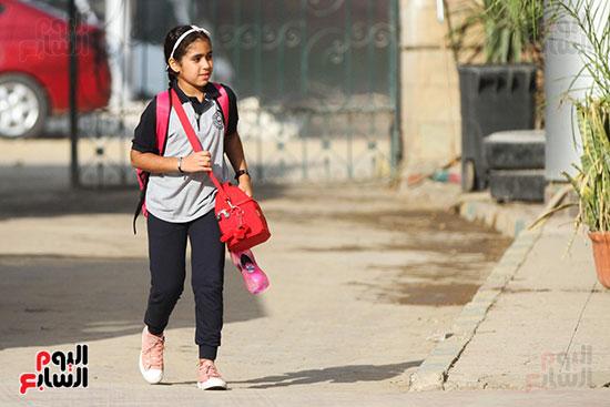 توافد التلاميذ على المدارس (9)
