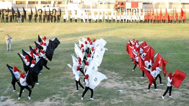احتفالية محافظة الشرقية بالعيد القومى (3)
