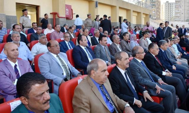 احتفالية محافظة الشرقية بالعيد القومى (4)