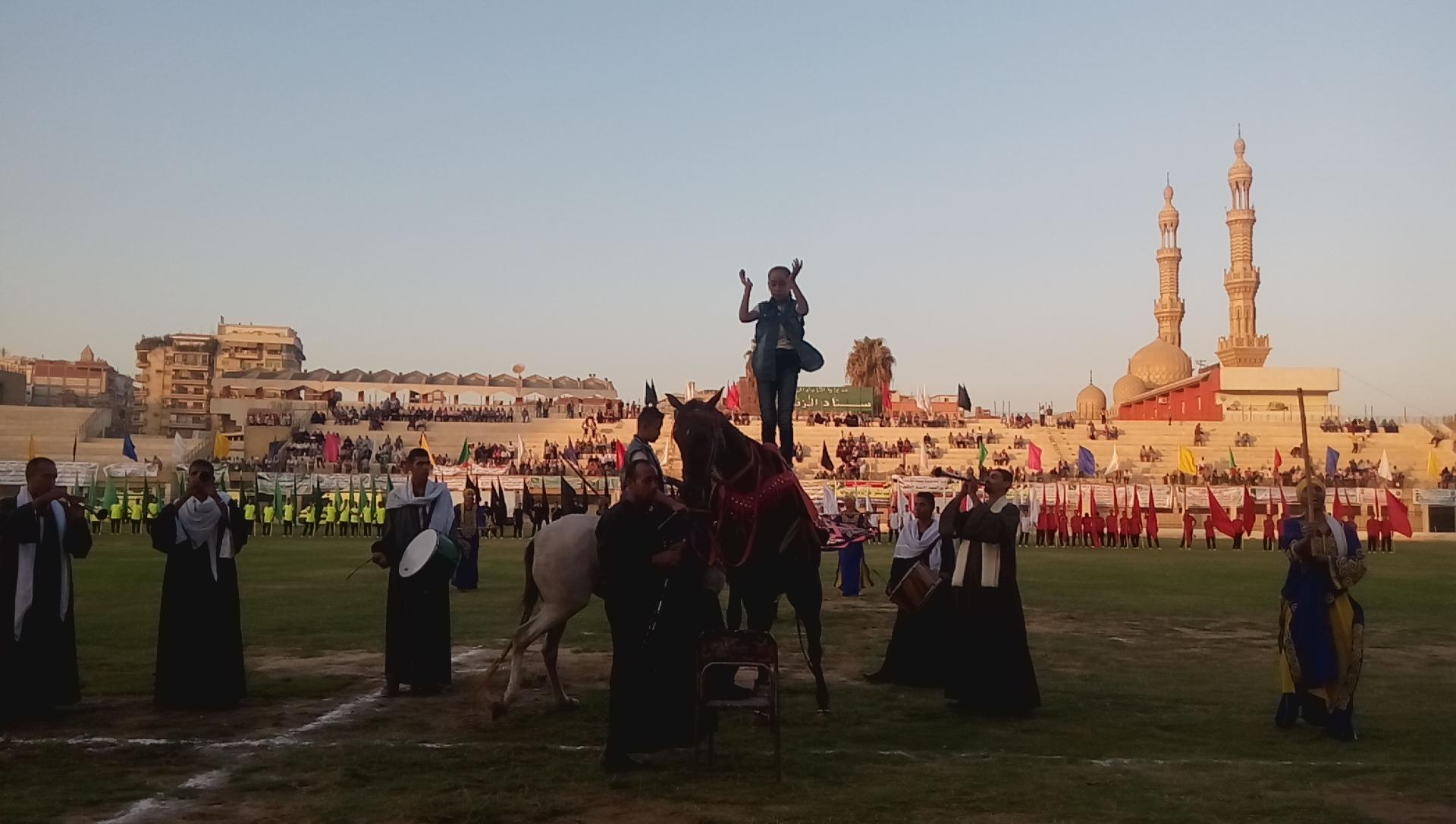 احتفالية محافظة الشرقية بالعيد القومى (9)