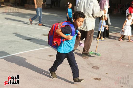 توافد التلاميذ على المدارس (8)