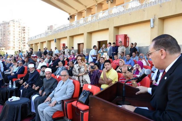 احتفالية محافظة الشرقية بالعيد القومى (6)