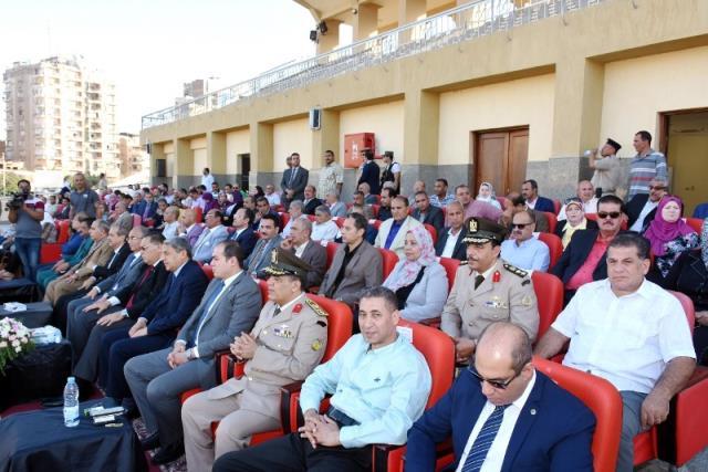 احتفالية محافظة الشرقية بالعيد القومى (7)