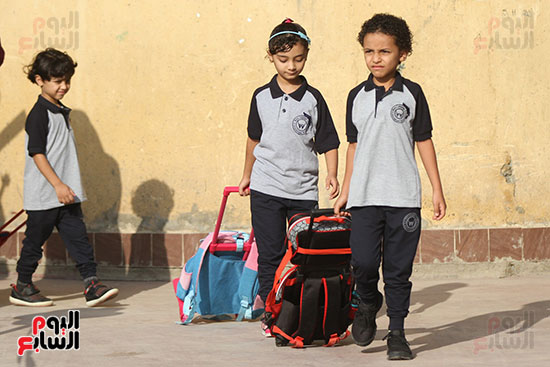 توافد التلاميذ على المدارس (18)