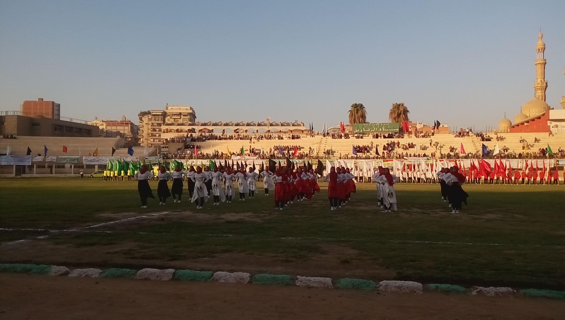 احتفالية محافظة الشرقية بالعيد القومى (11)