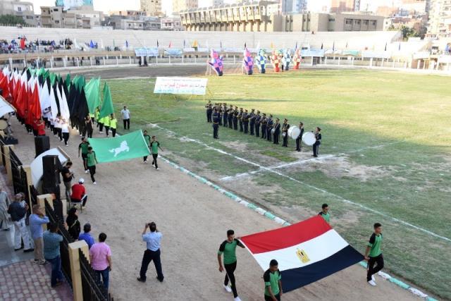 احتفالية محافظة الشرقية بالعيد القومى (2)