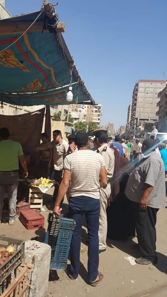 حملة مرافق الغربية لإزالة سوق سيجر