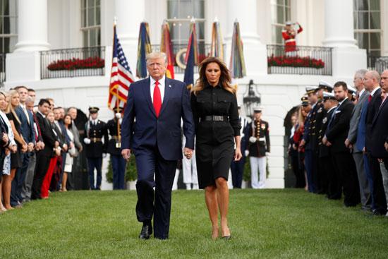 الرئيس الأمريكى وزوجته