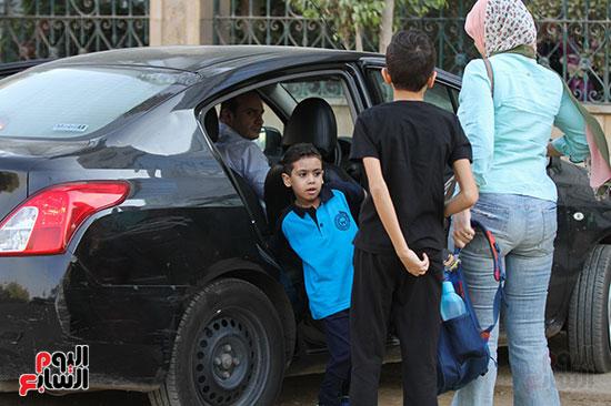 توافد التلاميذ على المدارس (4)