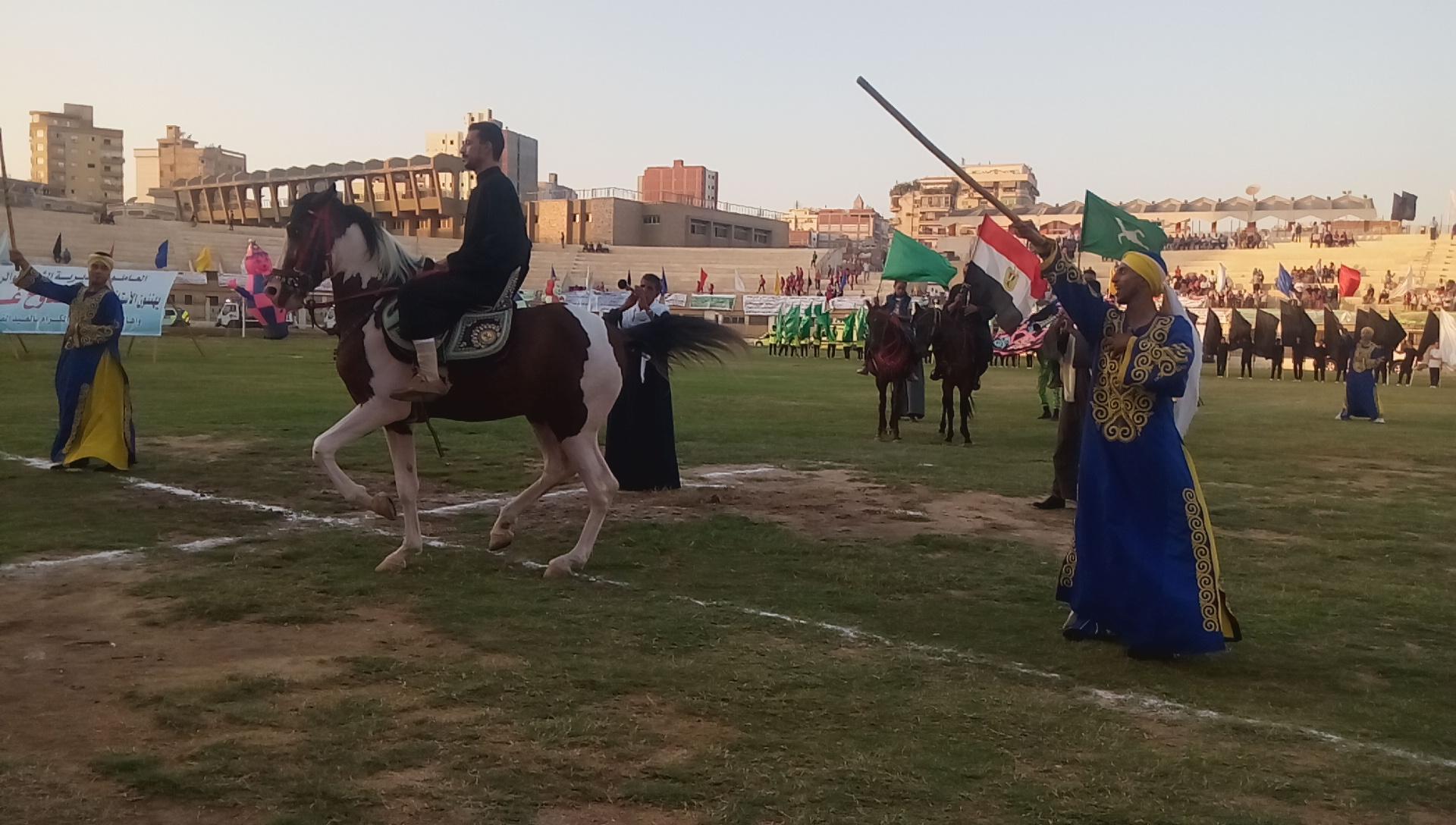 احتفالية محافظة الشرقية بالعيد القومى (10)