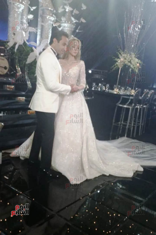 حفل زفاف أحمد فهمى وهنا الزاهد (2)