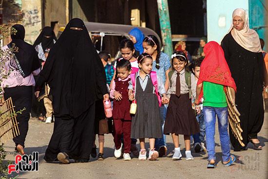 أول يوم مدارس في الارياف (2)