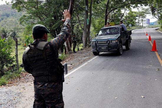 قوات الأمن فى جواتيمالا