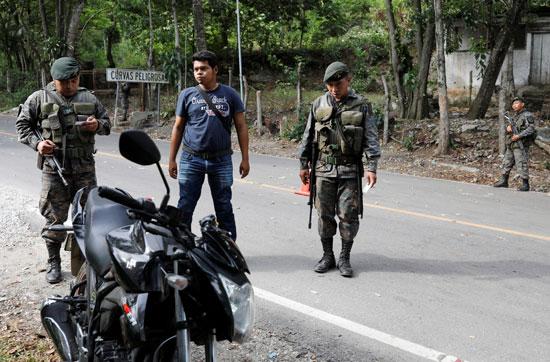 قوات الأمن بجواتيمالا
