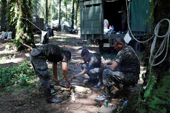 جنود جواتيمالا