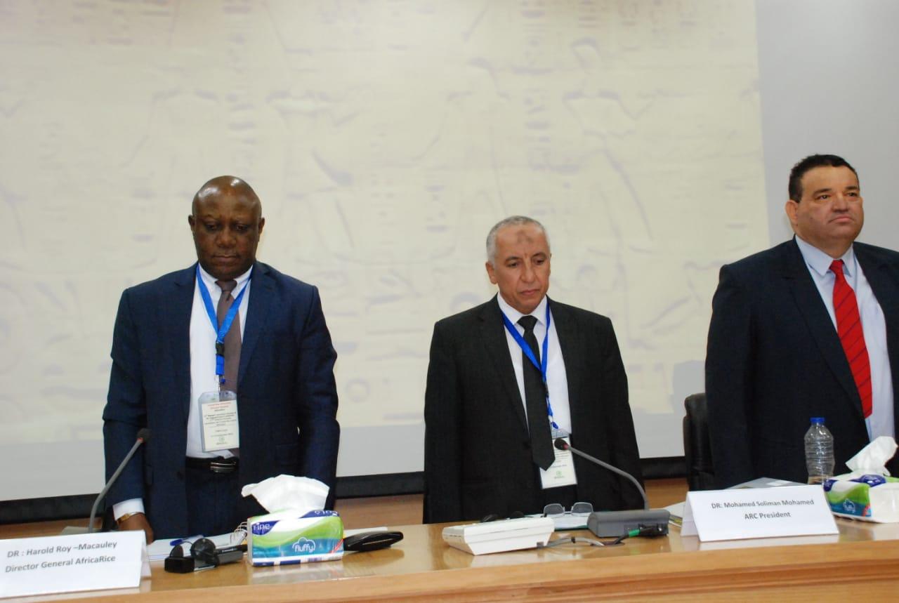 اجتماعات مركز الارز الافريقيى (4)