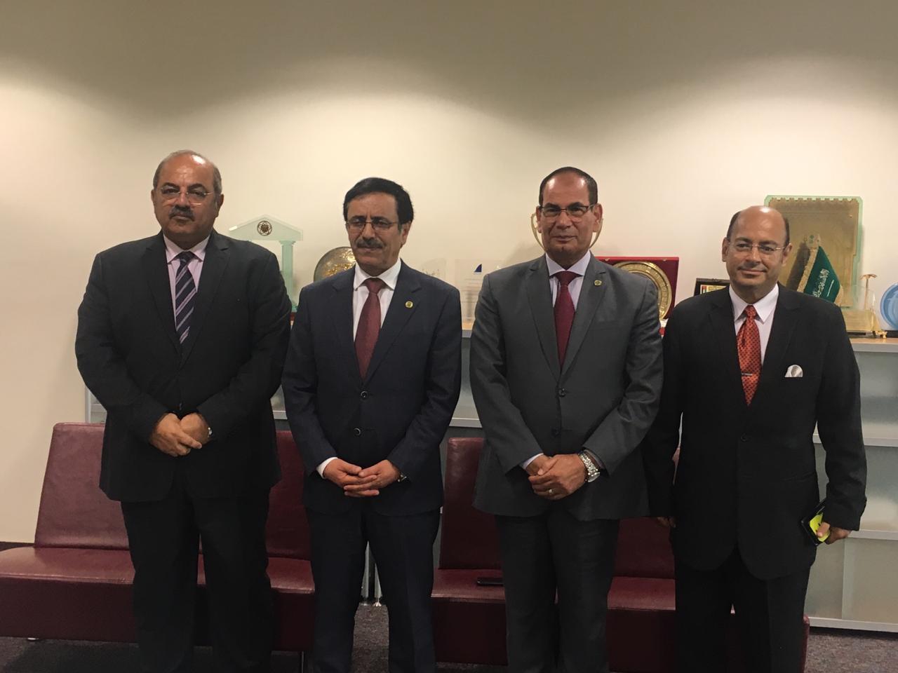 بروتوكول بين الاولمبية و جامعة الدول العربية