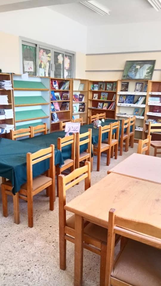 اعمال تجميل ورش المدارس لخدمة التلاميذ