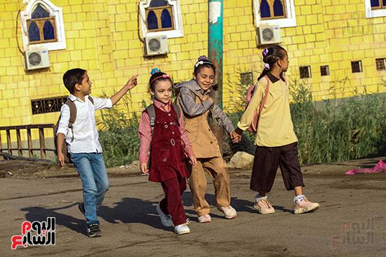أول يوم مدارس في الارياف (8)