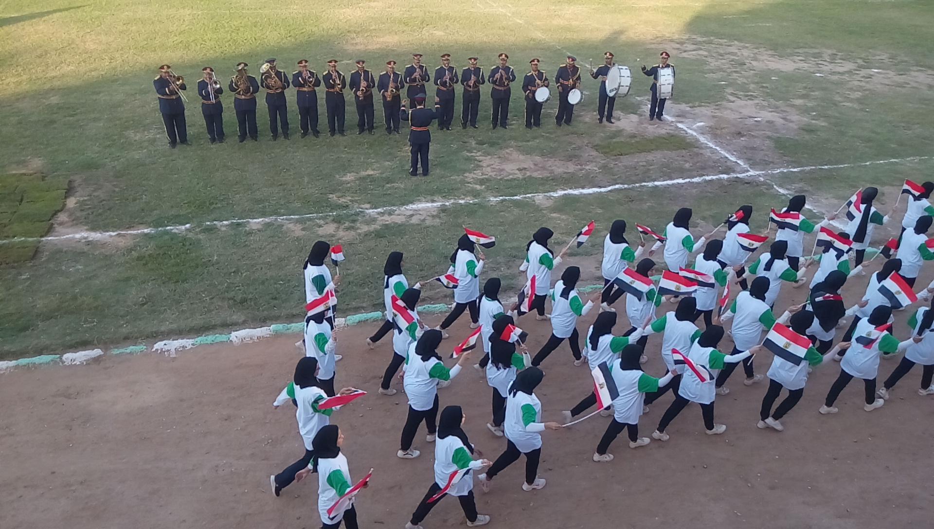 احتفالية محافظة الشرقية بالعيد القومى (14)