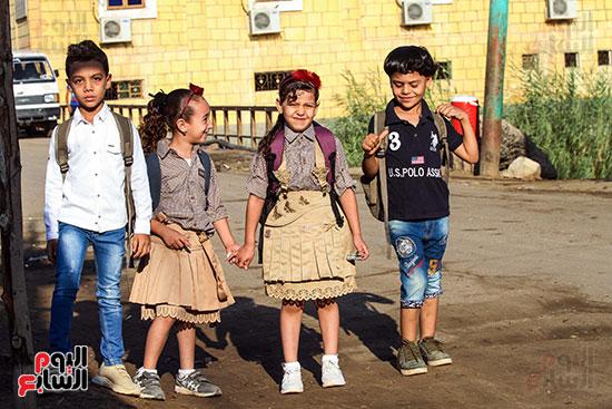أول يوم مدارس في الارياف (12)