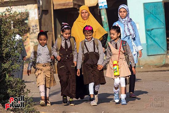 أول يوم مدارس في الارياف (6)