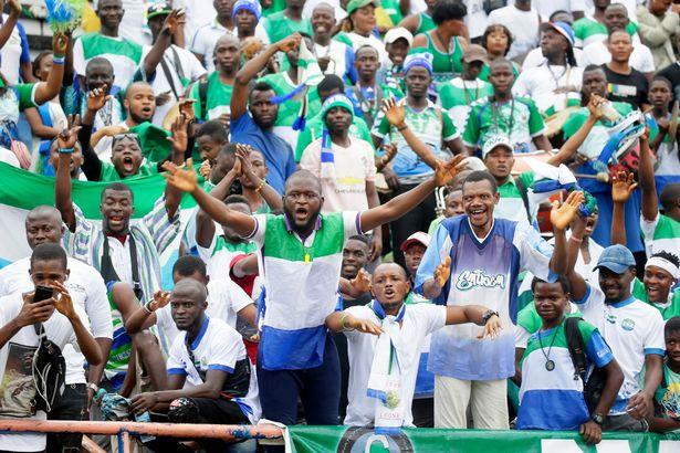 مشجعو سيراليون