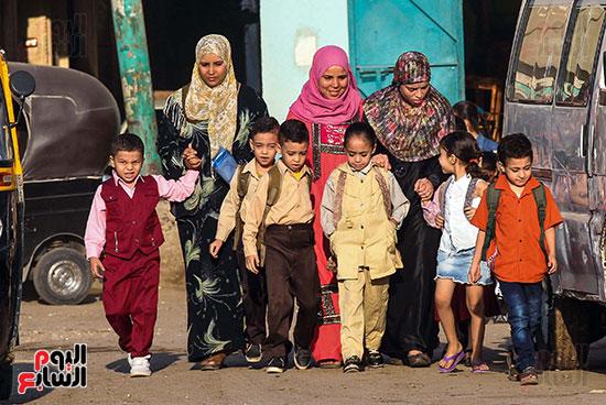 أول يوم مدارس في الارياف (5)