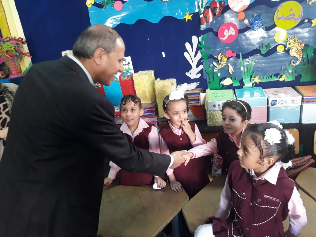وكيل تعليم الفيوم يتابع مدارس شرق الفيوم (6)