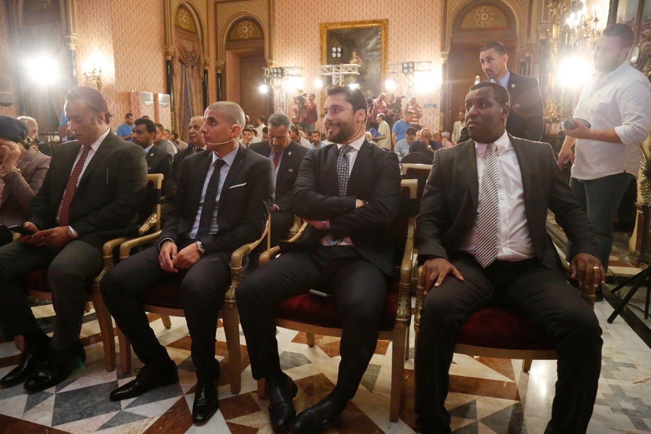 منتصر النبراوى و احمد حسن و عبد الستار صبرى