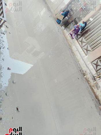 مدخل قرية البرادعة بالقناطر الخيرية (4)
