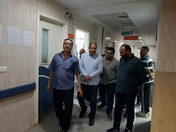 مدير صحة القليوبية يتفقد مستشفى شبين القناطر  (6)