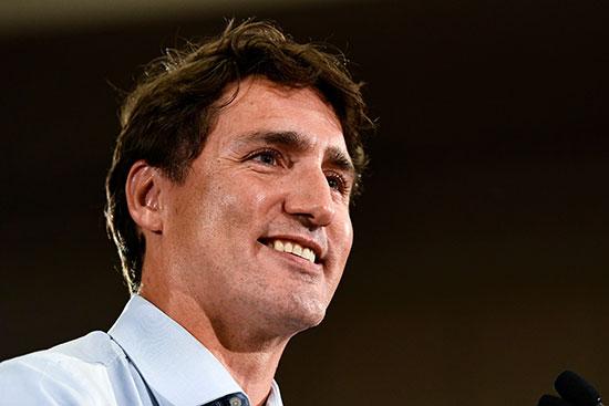 رئيس الوزراء الكندي جاستن ترودو
