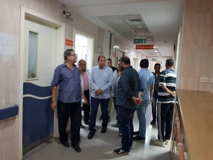 مدير صحة القليوبية يتفقد مستشفى شبين القناطر  (5)
