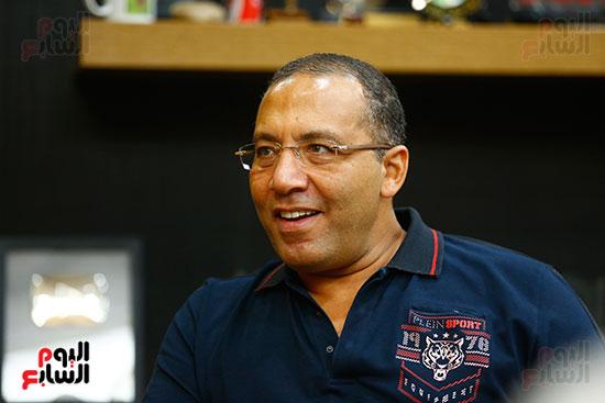 اليوم السابع يحتفل بميلاد الفنان اشرف عبد الباقى (6)