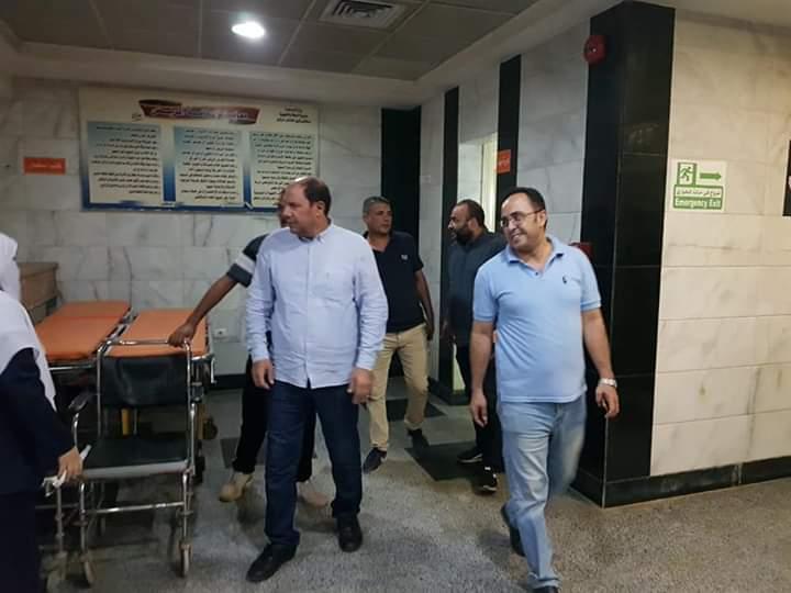 مدير صحة القليوبية يتفقد مستشفى شبين القناطر  (3)