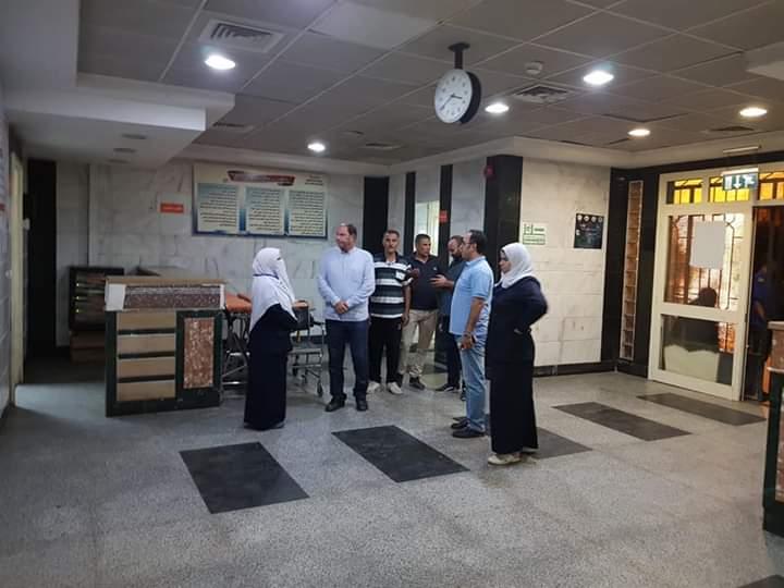 مدير صحة القليوبية يتفقد مستشفى شبين القناطر  (2)