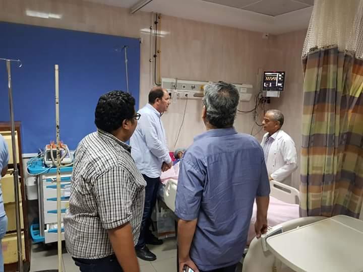 مدير صحة القليوبية يتفقد مستشفى شبين القناطر  (7)