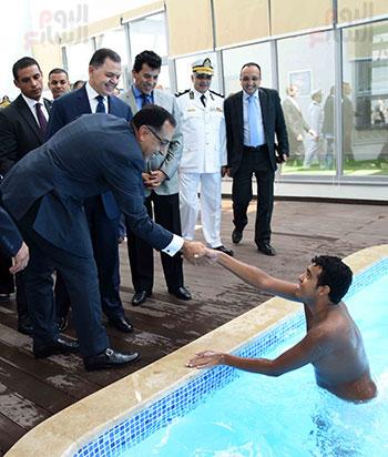 رئيس الوزراء يفتتح واحداً من أكبر المراكز التأهيلية لذوى الإحتياجات الخاصة (5)