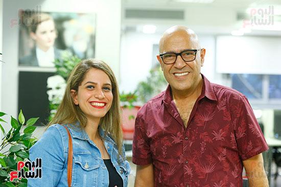اليوم السابع يحتفل بميلاد الفنان اشرف عبد الباقى (10)
