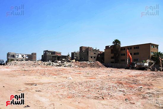 رئيس الوزراء بيتفقد منطقة سور مجرى العيون ومنطقة عين الحياة(22)