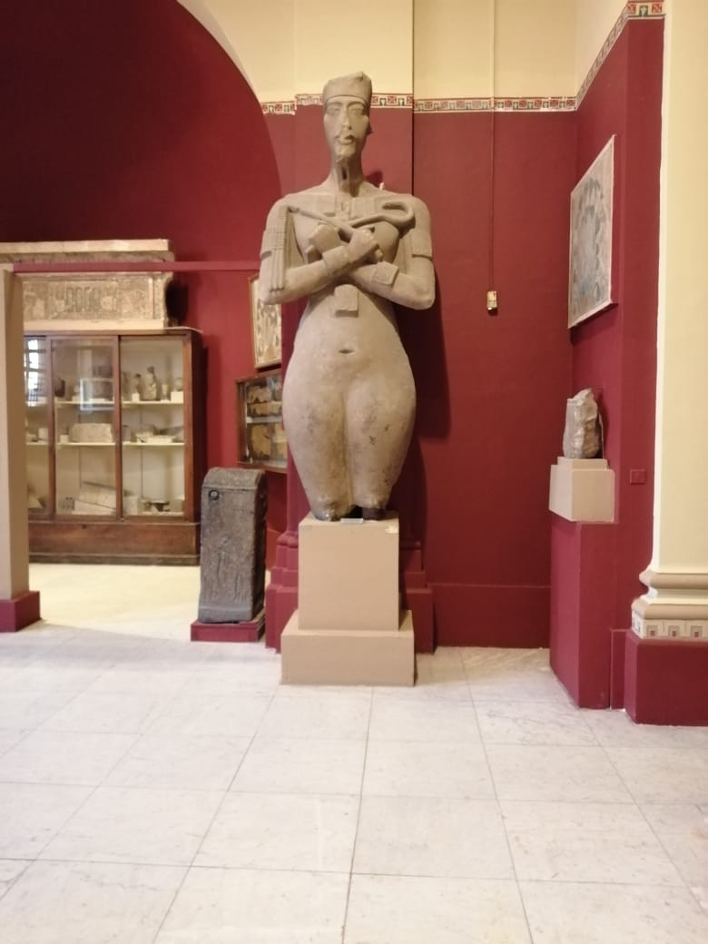 جانب من أعمال تطوير المتحف المصرى بالتحرير (2)