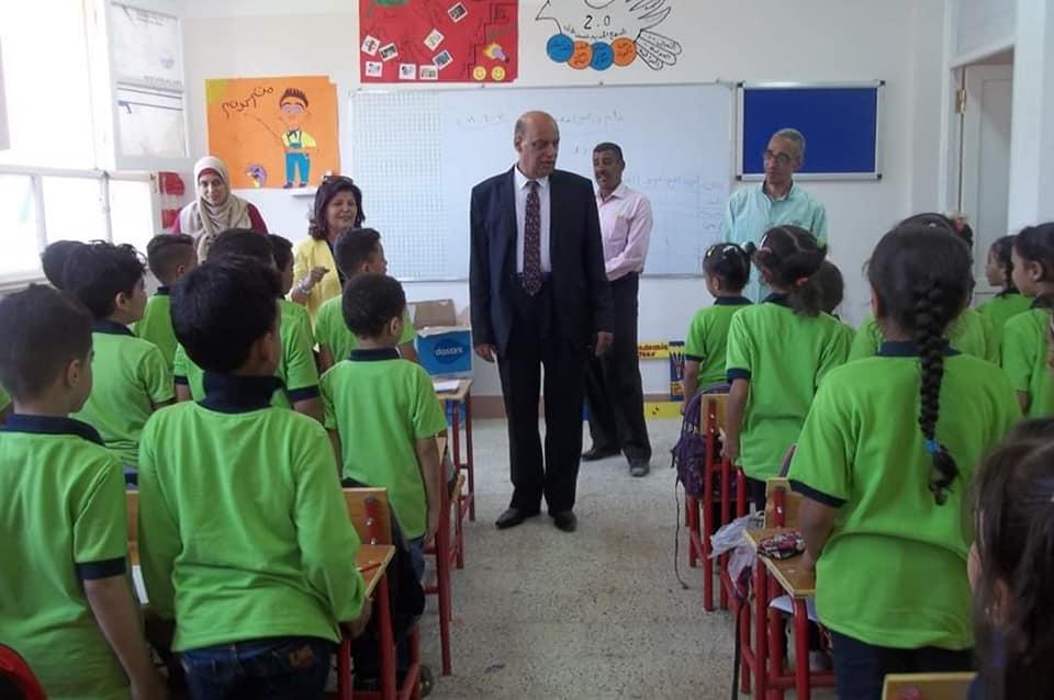 وكيل تعليم الأقصر يتفقد المدارس (1)