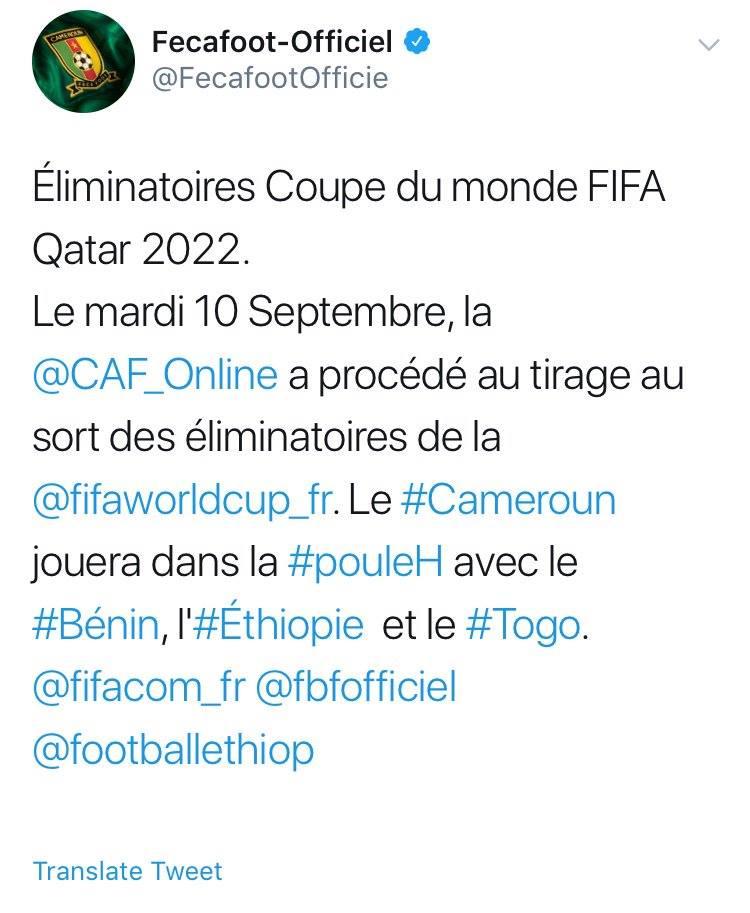 الاتحاد الكاميروني